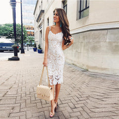 2019 European and American spring foreign trade new pencil skirt wish AMAZON lace sling pencil skirt skirt