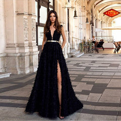 2019 Europe and the United States foreign trade new women's clothing wish Amazon sexy deep V backless dress dress long skirt
