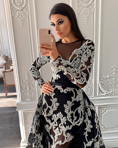 2020 new European and American foreign trade women's independent station Amazon sexy gilded small tailed Dress NEW