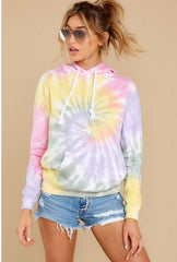 2020 spring and summer European and American new home wear casual loose Hoodie summer Amazon long sleeve printed home sweater
