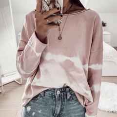 2020 spring and summer new European and American cross border home service leisure long sleeve summer Amazon loose long sleeve home long sleeve