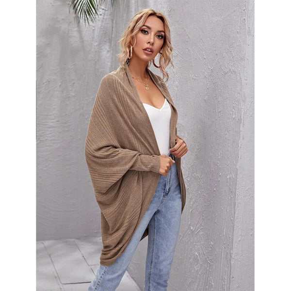 2020 thin temperament commuter V-neck cardigan bottoming pullover women's long-sleeved sweater jacket one generation