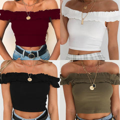 2020 Ebay Amazon supply hot sales strap sexy little top summer cross-border new women's clothing