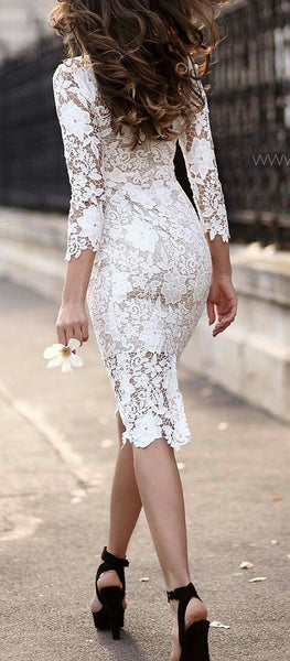 2018 Europe and the United States foreign trade new women's wish Amazon sexy lace long-sleeved pencil skirt skirt