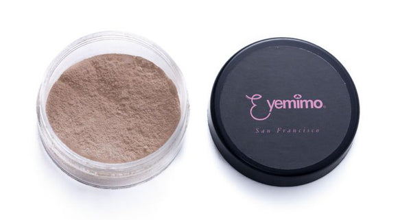MF05 [STEPHANIE] - EYEMIMO Mineral Makeup Foundation - Medium Night Warm Tone