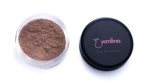MF08 [PEPPER] - EYEMIMO Mineral Makeup Foundation - Night Tone