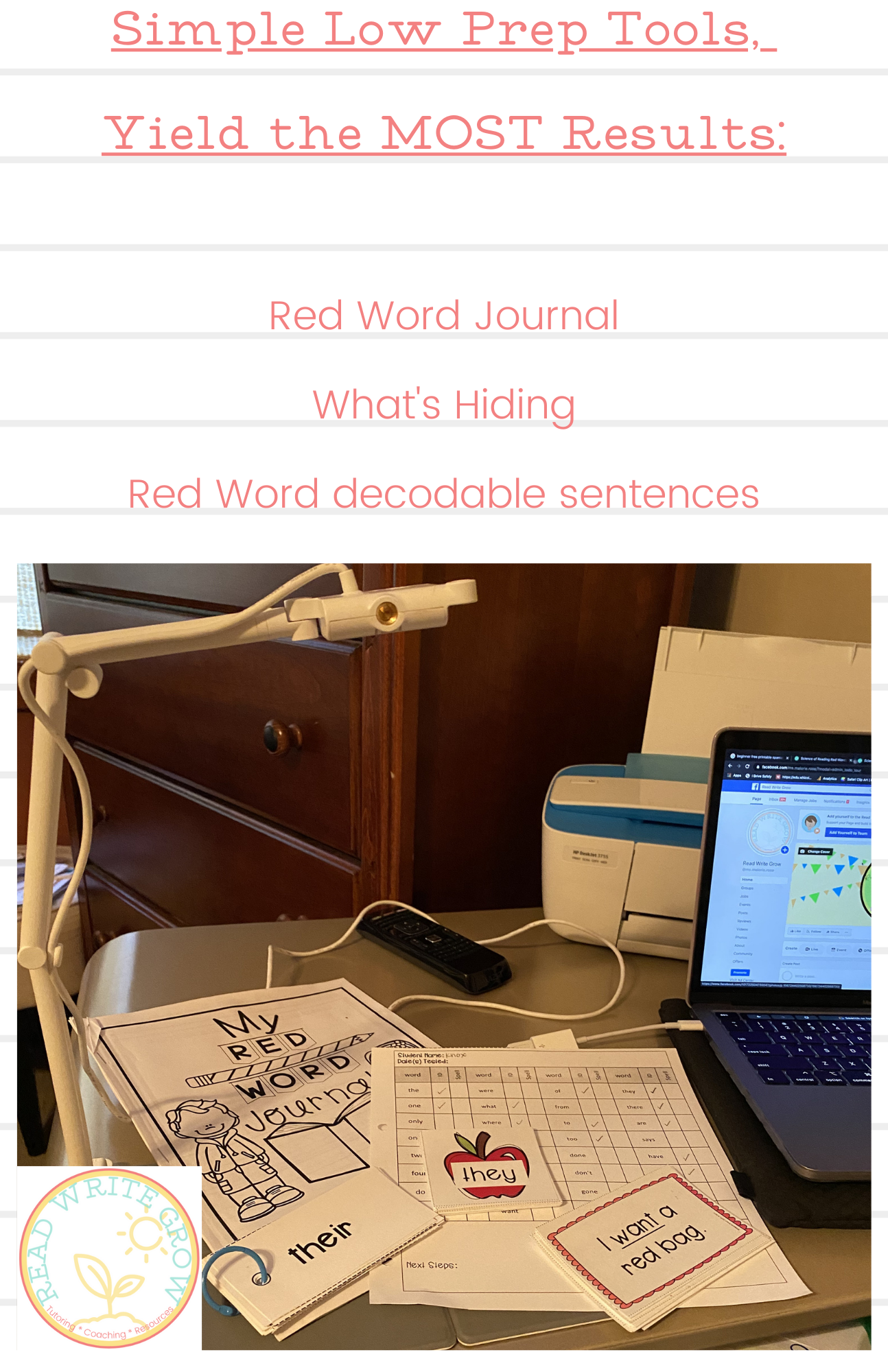 Red Word Journal