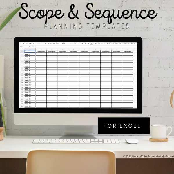 scope-sequence-planning template