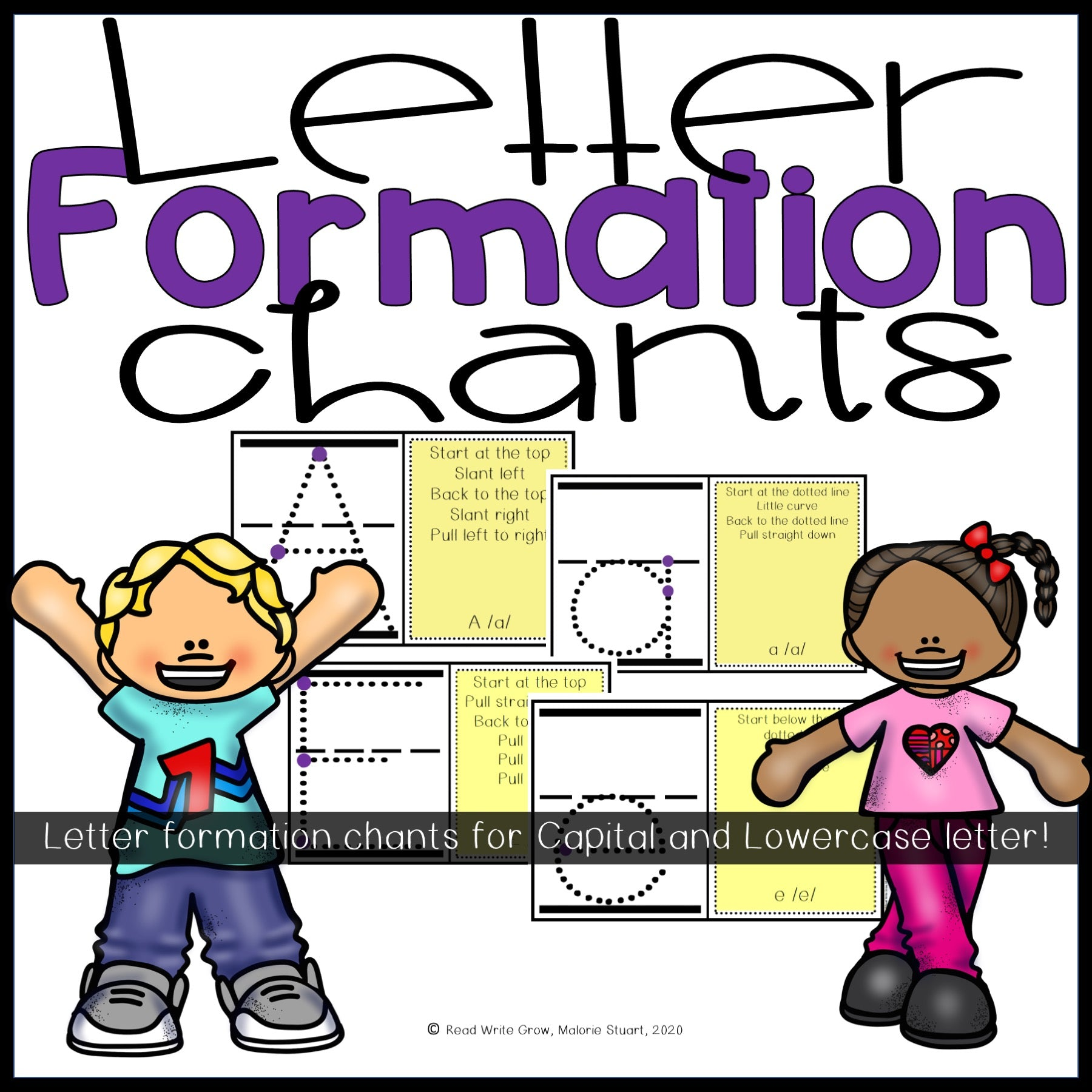 Letter Formation Chants
