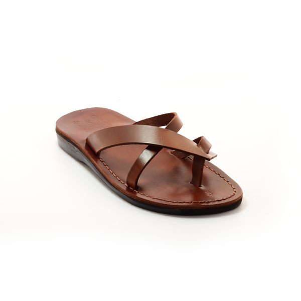 sandals, Brown Leather Sandals For Women Model 26 - Holysouq - Handmade Leather Creations