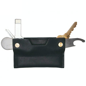 Leather Credit Card Wallet and Smart Key Holder - Mad Man by Mad Style Wholesale