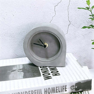 Men's Concrete Desk Clock Mad Man by Mad Style Wholesale