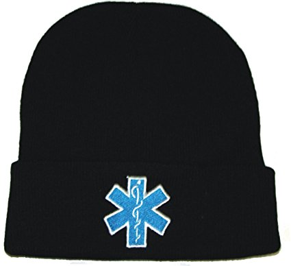 EMS Star of Life Embroidered Watch Cap