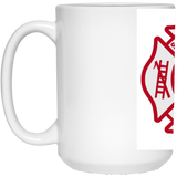 SC Firefighter 15 Oz Mug