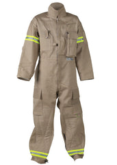FireDex: Tan Extrication Coveralls 9oz Indura Cotton