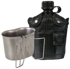 3 Piece Canteen Kit With Cover & Aluminum Cup