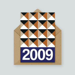 Stud Year Card (Available in years 2000 to 2009)