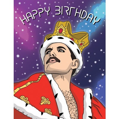Freddie Mercury - Greeting Card
