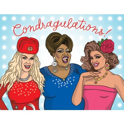 Condragulations - Greeting Card