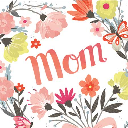 Mother's Day Spring Bouquet - Pop Up Greeting Card