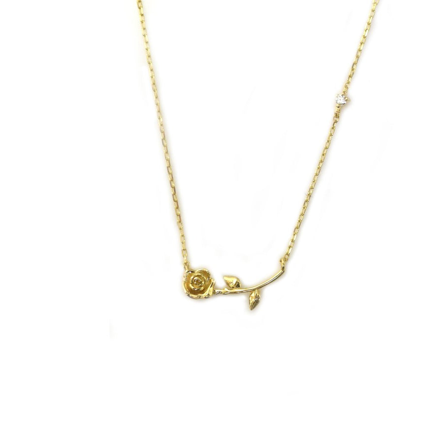 14k My Forever Rose Necklace | LA KAISER