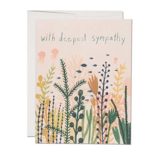 Underwater Sympathy - Greeting Card