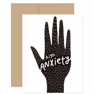 High Anxiety - Greeting Card