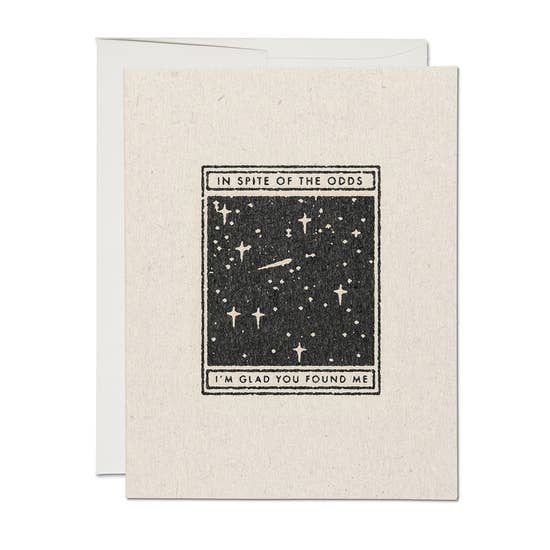 In Spite of the Odds - Greeting Card