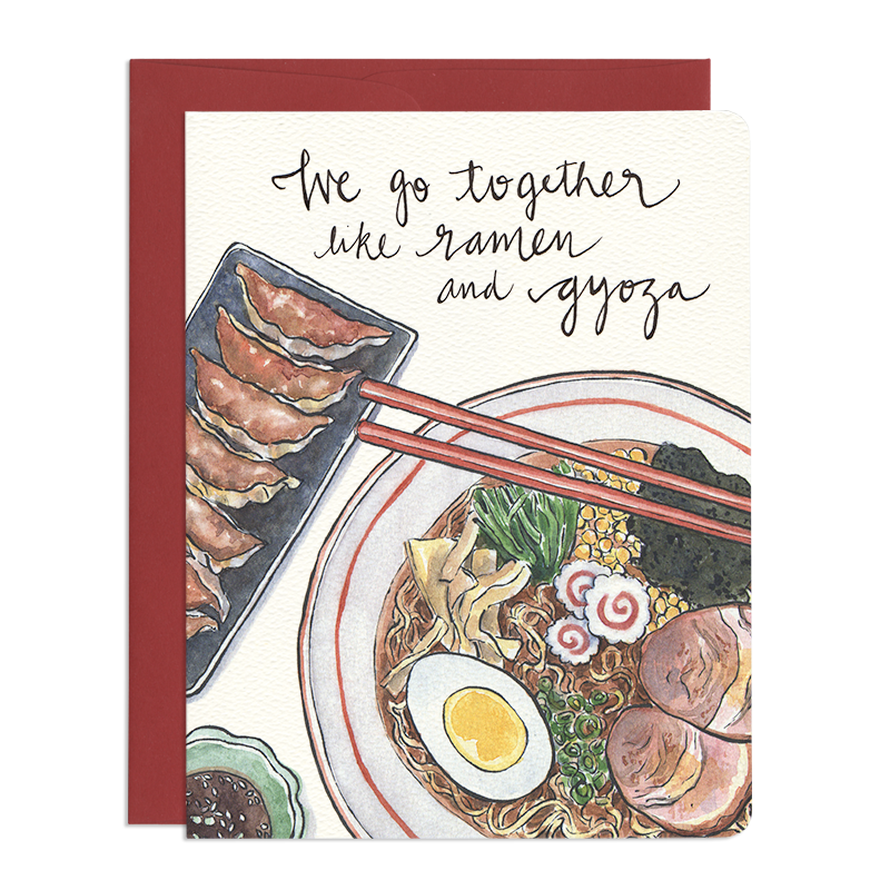 Ramen & Gyoza - Greeting Card