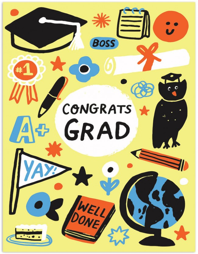 Congrats, Grad - Greeting Card
