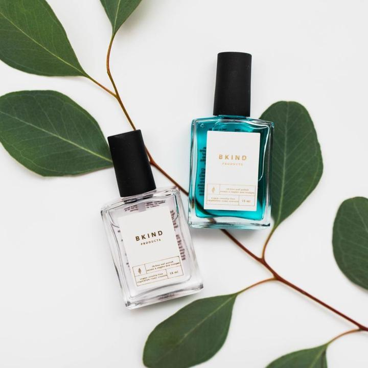 Non-Toxic Nail Polish Duo: Base & Top Coat