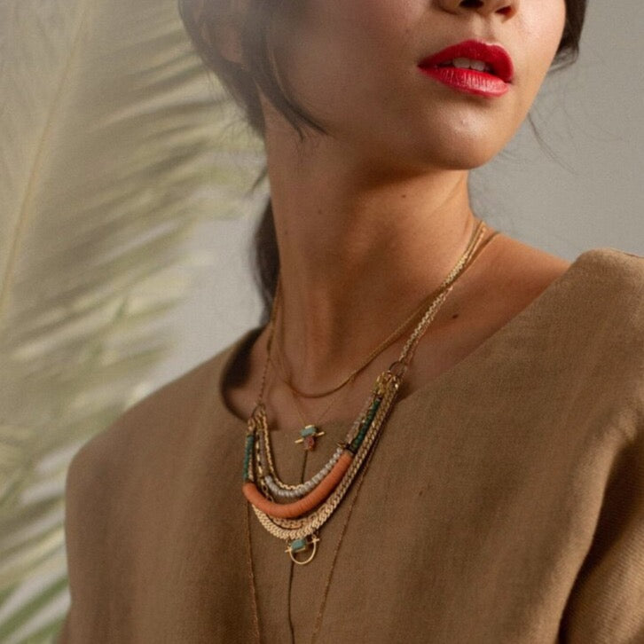 Lisbon Necklace | HAILEY GERRITS | JV Studios Boutique