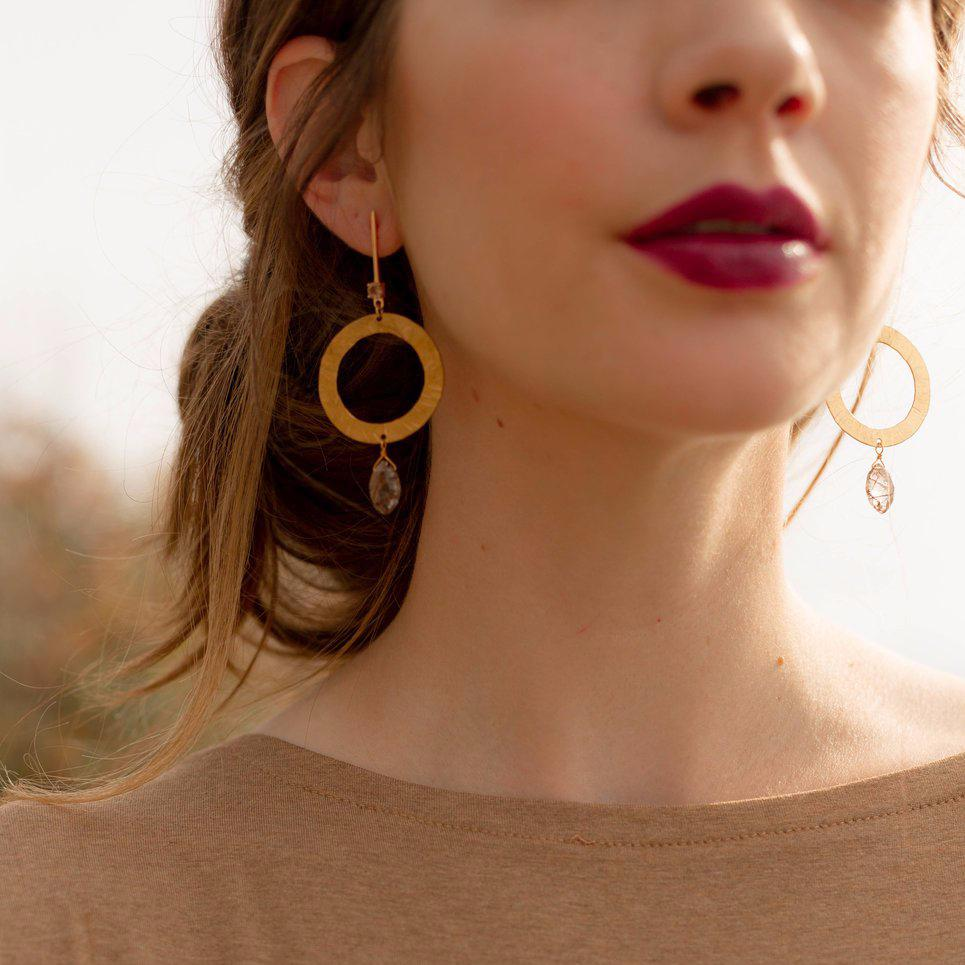 Orion Earrings | HAILEY GERRITS | JV Studios Boutique