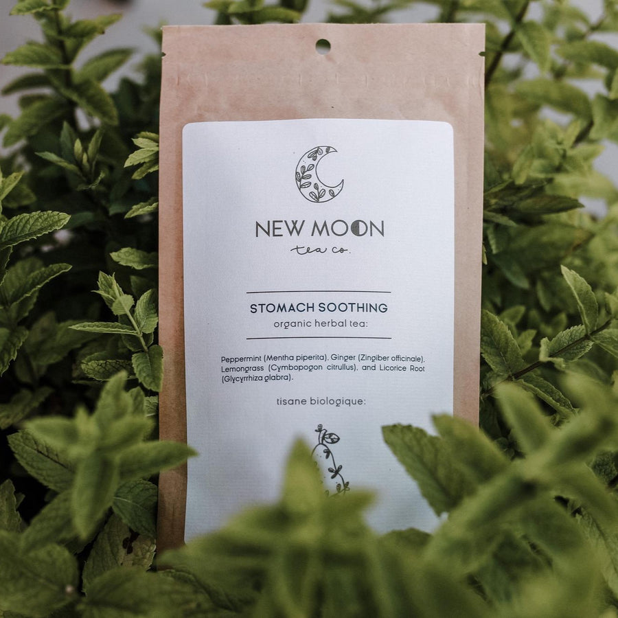 Stomach Soothing Tea | NEW MOON TEA CO