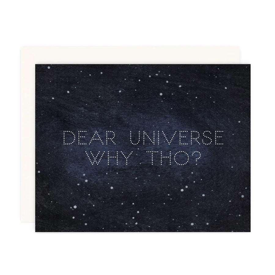 Why Tho? - Greeting Card