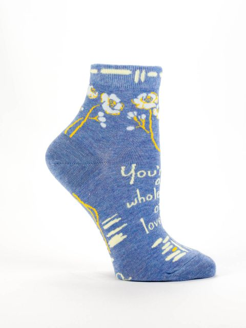 Blue Q Whole Lotta Lovely Women's Ankle Socks