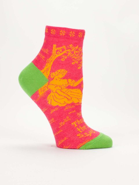 Thou Art The Bomb Ankle Socks - Women