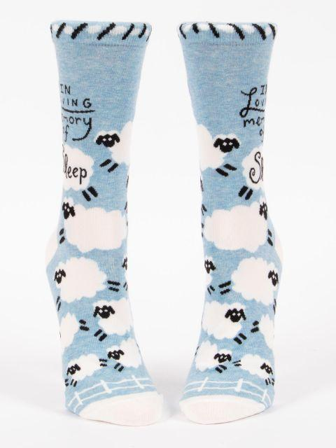 In Loving Memory of Sleep Socks - Women
