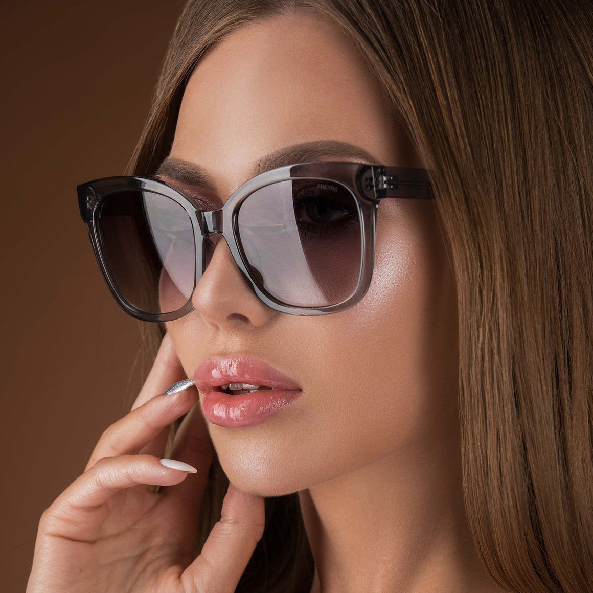 Lola Sunnies - Grey | FREYRS | JV Studios Boutique