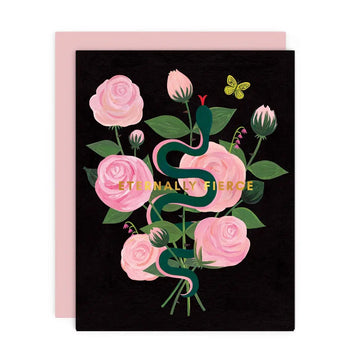 Eternally Fierce - Greeting Card
