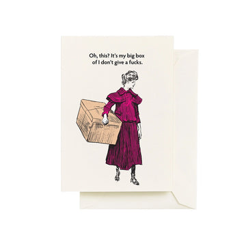 Box - Greeting Card