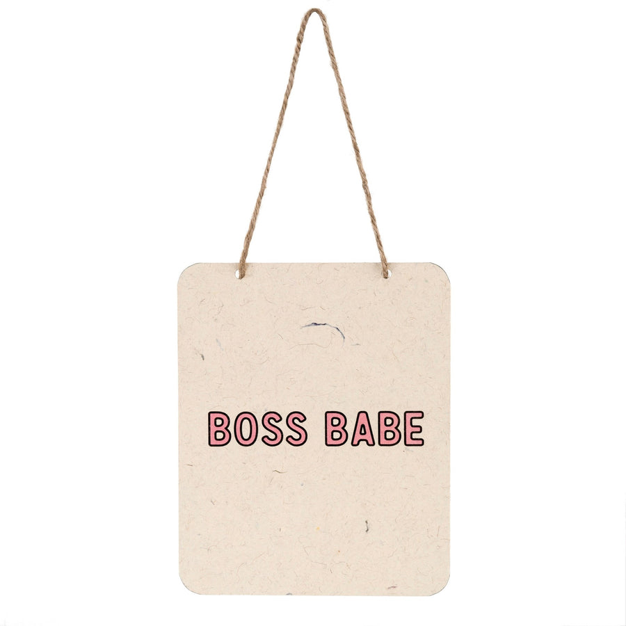 Boss Babe - Sign