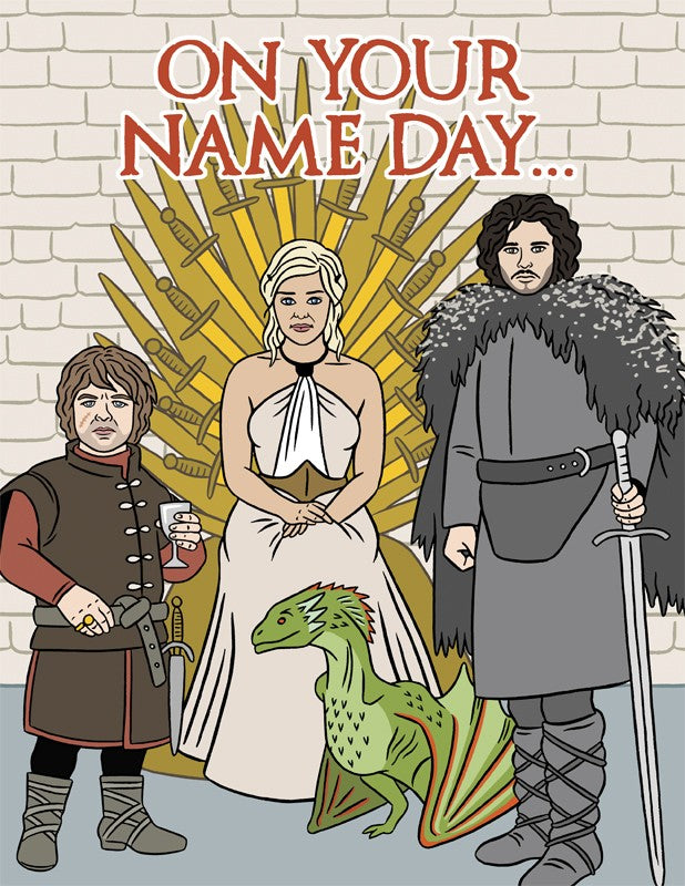 Game of Thrones- Birthday Card