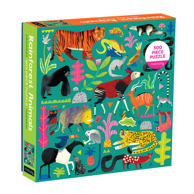 Rainforest Animals Puzzle