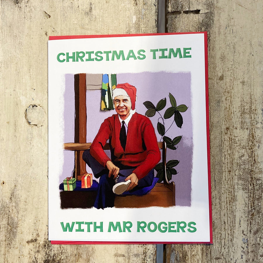 Mr. Rogers Holiday - Greeting Card