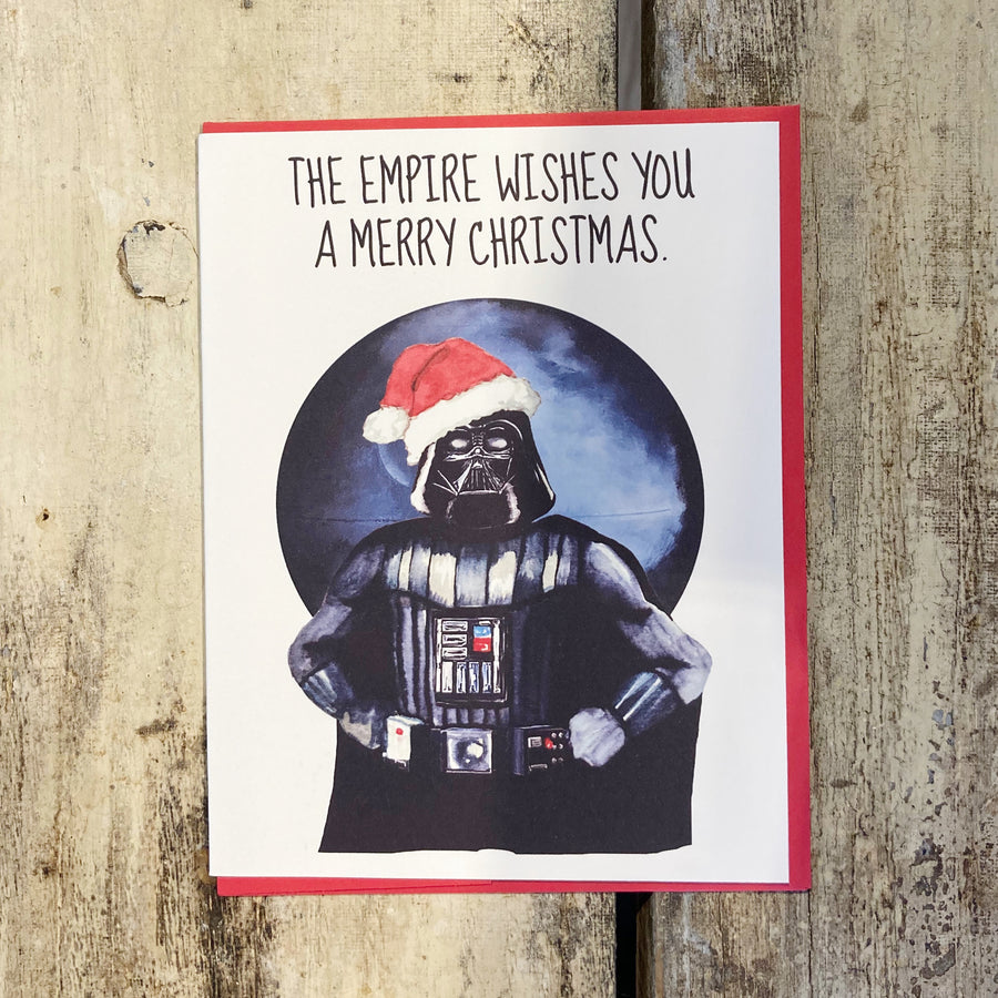 Star Wars Empire Holiday - Greeting Card
