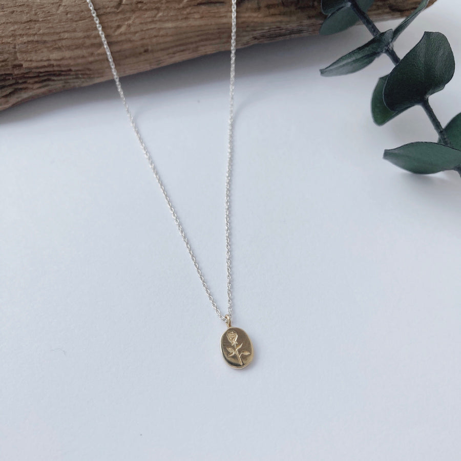 Rosebud Necklace | CLAUS JEWELRY