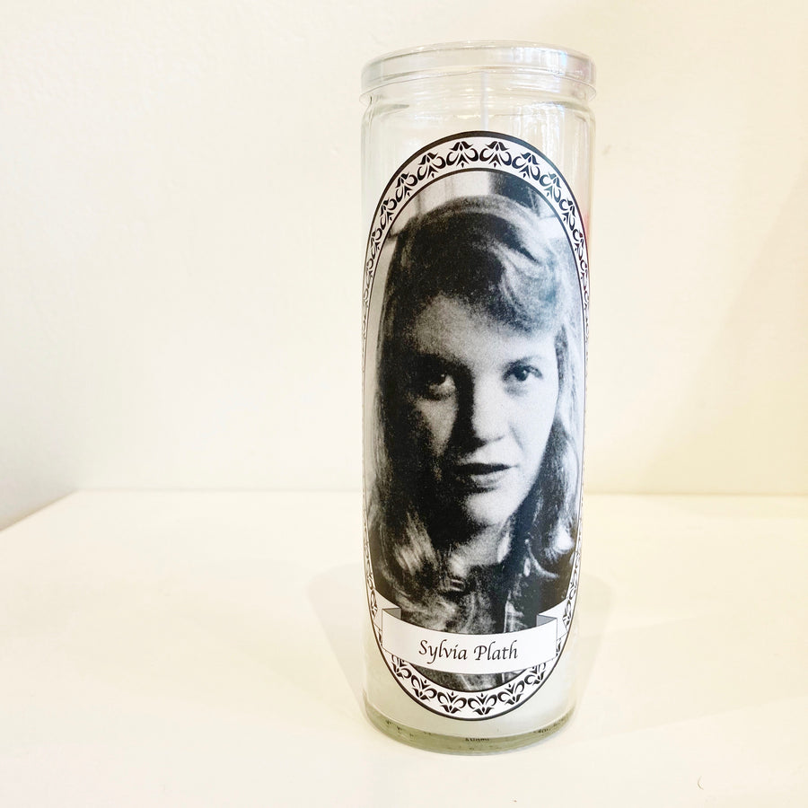 Sylvia Plath Votive Candle