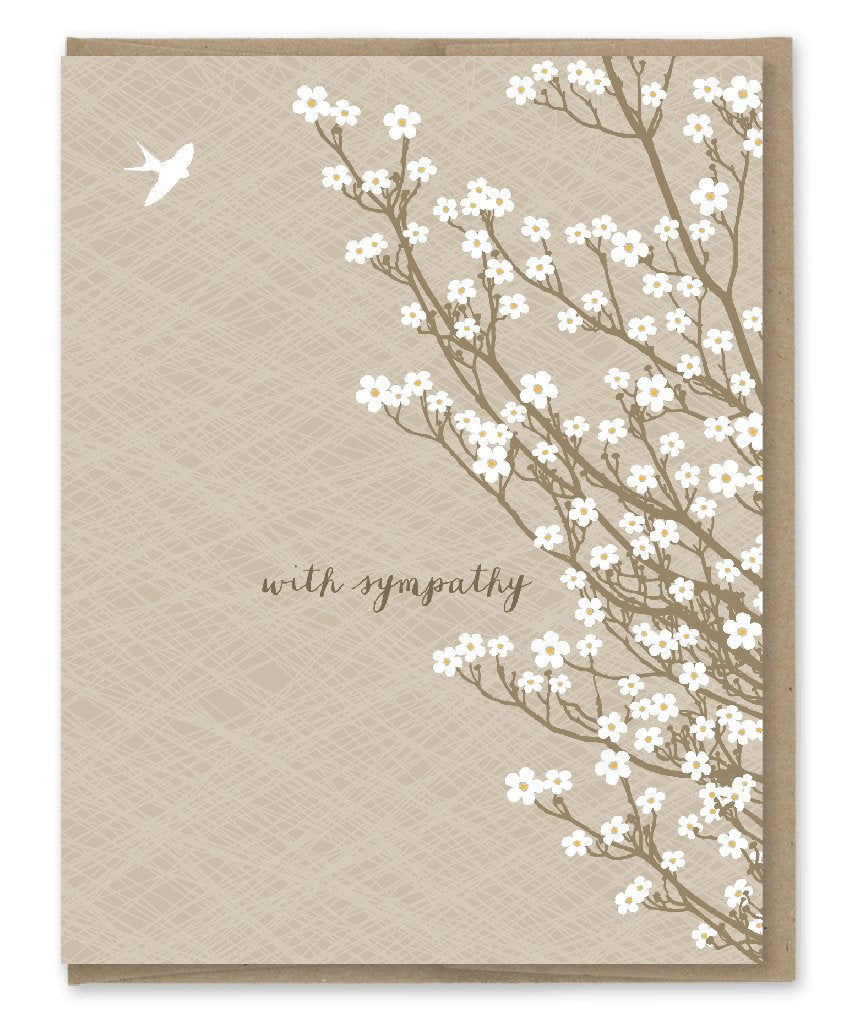 With Sympathy - Greeting Card