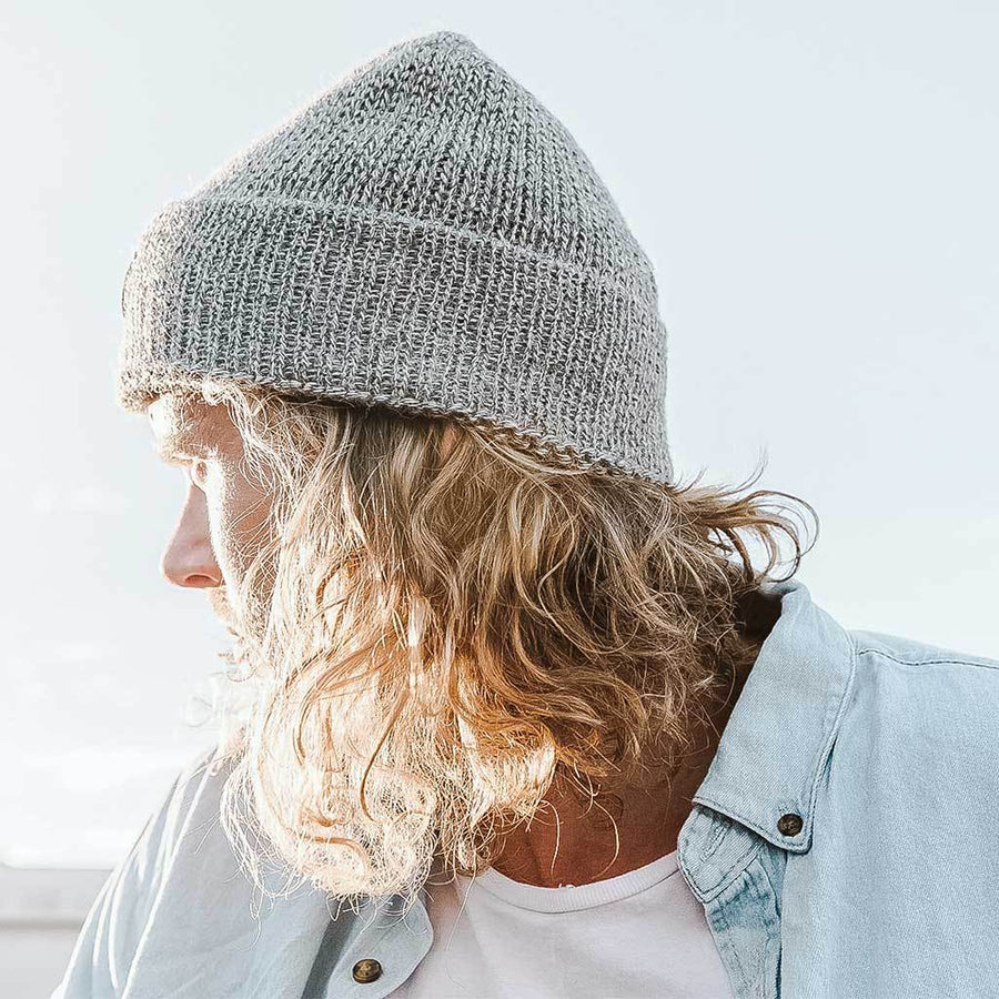 Alpaca Toque - Light Grey | POKOLOKO